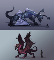 Wy Dragons by AssasinMonkey