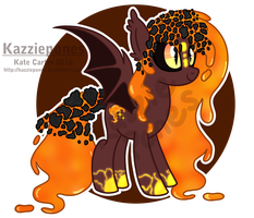 Rare Lava Nixie Auction [CLOSED] by Kazziepones