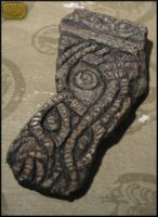 Shoggoth fragment - Jasper Finish by CopperCentipede