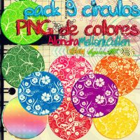 Pack circulos PNG by alondra13ize
