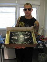 M Shadows birthday cake by Synyster-VengeanceII