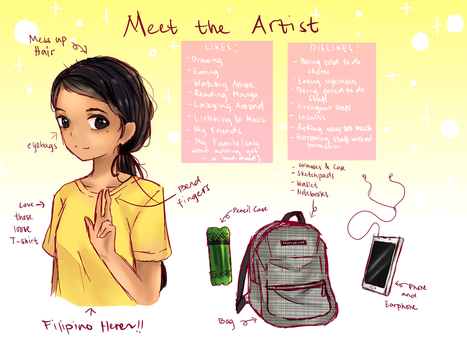 Meet The Artist~ by Sweetmeloday