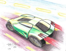 Colour Pencil Exercise - 2 by DeStryker17