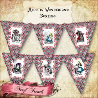 Alice in Wonderland Banner by NerdTrends
