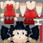 Betty Boop Color Map by Chatmusse