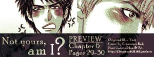 Not Yours, Am I?: Ch 6 pp29-30 PREVIEW by scottwuming