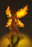 Fire Fairy Revisited by Little-Katydid