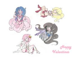 Valentines in Panty Kingdom by noraelie