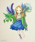 Tiny girl with Herbs by doramsc