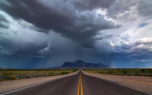 Storm over the Superstitions by MattGranzPhotography