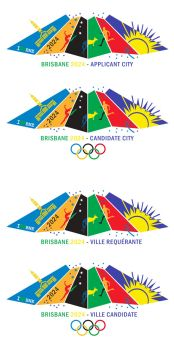 Brisbane 2024 Bid Logo by LordDavid04