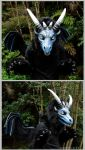 Dragonface costume by zarathus