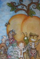 James and the Giant Peach by hopefark