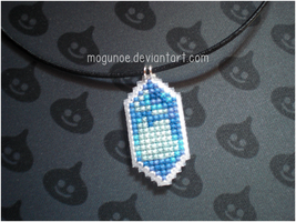 Final Fantasy ~ Crystal necklace by mogunoe