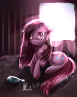 Pinkamena the broken party pony by AquaGalaxy