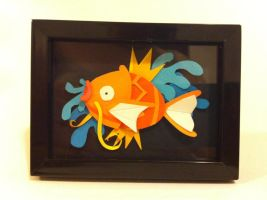 Magikarp papercraft by TRAVALE