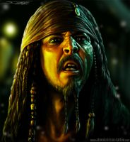 captain jack sparrow by AtomiccircuS