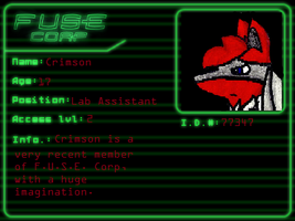 Crimson's F.U.S.E. corp. ID by Crimson9876