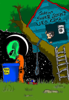 UFO Club (color) by Indecline69