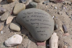 Compassion Comes In Many Forms by Rhiallom