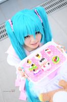 Lots of Laugh, Hatsune Miku: Pink Candy by cure-pain