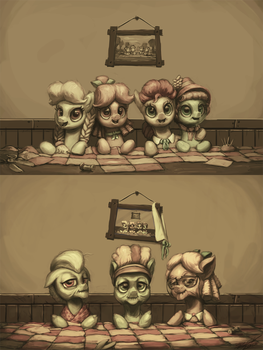 The Olden Apple Mares by AssasinMonkey