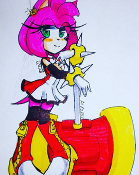 my amy rose by Prim-the-love