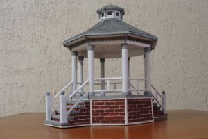 Gazebo - 001 by Brunasc