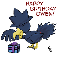 Mssingno's Birthday Pic XD by PracticallyGeeky