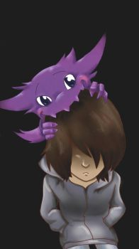 freind and Haunter by BlueEyedKat