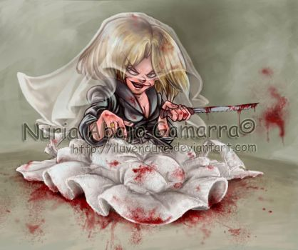 Tiffany, Bride of Chucky by nuriaabajo