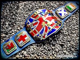 The SWA BritishLions Championship Belt! by JayCosplay