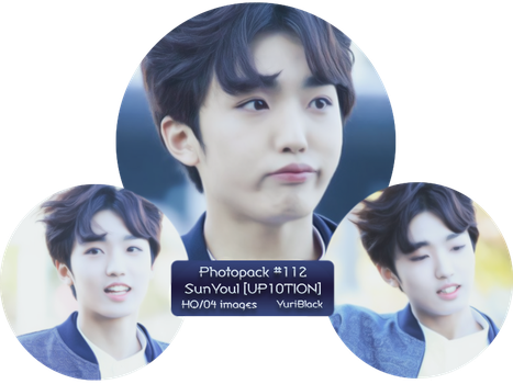Photopack #112 - SunYoul [from UP10TION] by YuriBlack