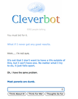 cleverbot adventures. pg. 1 by bronzefish678
