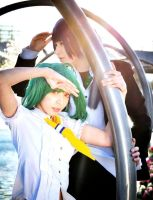 Macross Frontier: Ranka and Alto by sasu89