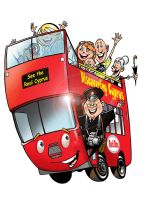 Red Bus by HowardMolloy