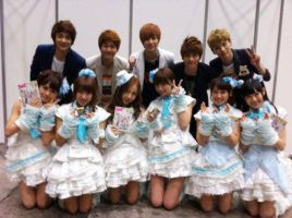 SHINee with AKB48 by Lala561