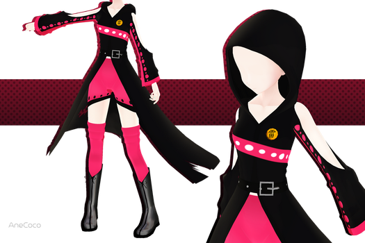 .:: MMD COMMISSION - Skyler S7 outfit ::. by AneCoco