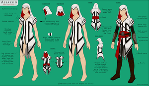 Assassin Costume Design by SilverSkittle