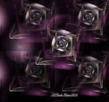 Glass Roses by youlittlemonkey
