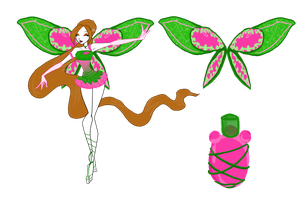 Request from Flora-Chatta Elyon enchantix design by mehlikeicare