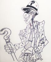 The Riddler by TheJokesOnYou
