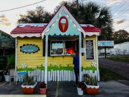 Adorable ice cream shop by speedofmyshutter