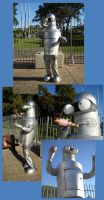 THE Bender Costume by GoblinMorningTea