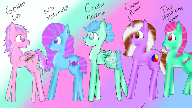 Mlp friends by CoastalCurrent