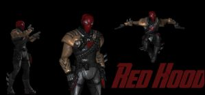 Red Hood Injustice by lonelygoer