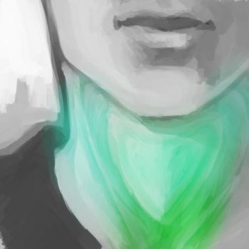 Paintsketch #05 -- Voice by IHideHere