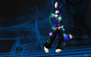 Rabbits and Raves by Blackfeathr