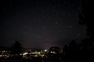 Star Trail by Coraleat