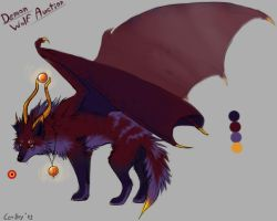 Demon Wolf Auction- CLOSED by LeoNoy